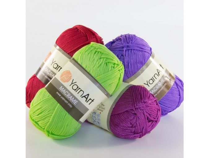 YarnArt Macrame 100% polyester, 6 Skein Value Pack, 540g фото 1