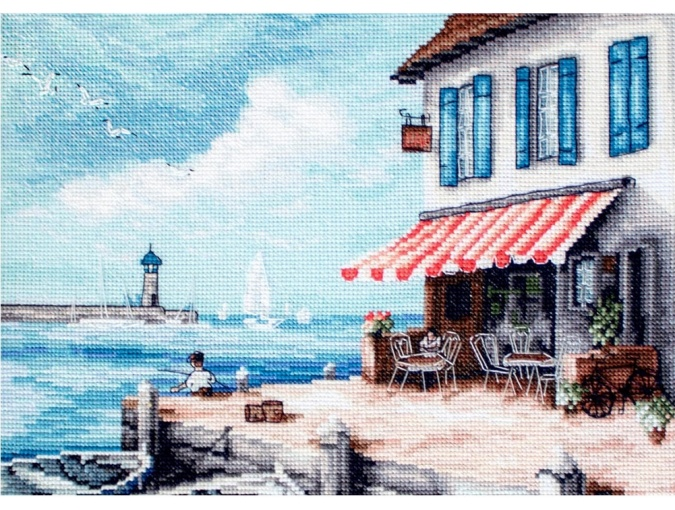 Sea Port Cross Stitch Kit фото 1