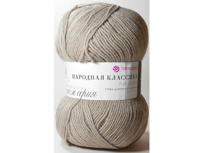 Pekhorka Folk Classics, 30% Wool, 70% Acrylic 5 Skein Value Pack, 500g фото 16