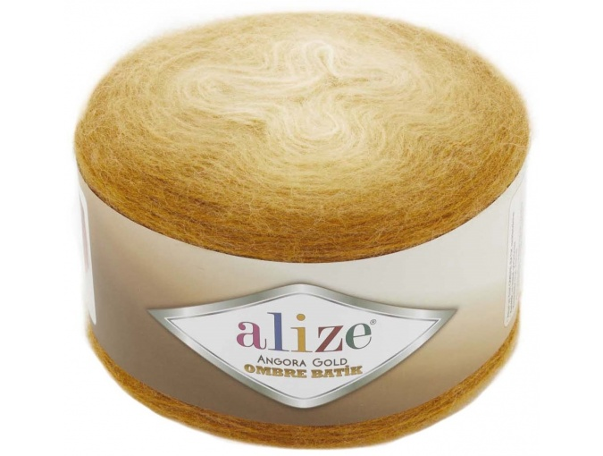 Alize Angora Gold Ombre Batik, 20% Wool, 80% Acrylic 4 Skein Value Pack, 600g фото 17