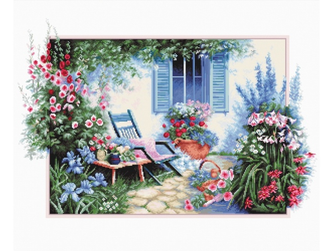 Flower Garden Cross Stitch Kit фото 1