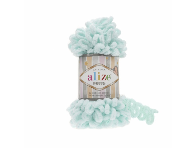 Alize Puffy, 100% Micropolyester 5 Skein Value Pack, 500g фото 4