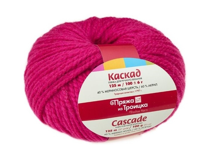 Troitsk Wool Cascade, 40% wool, 60% acrylic 10 Skein Value Pack, 1000g фото 14