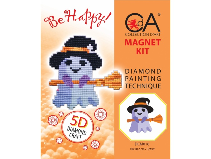 Ghost Magnet Diamond Painting Kit фото 2