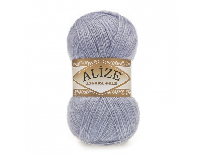 Alize Angora Gold, 10% Mohair, 10% Wool, 80% Acrylic 5 Skein Value Pack, 500g фото 40