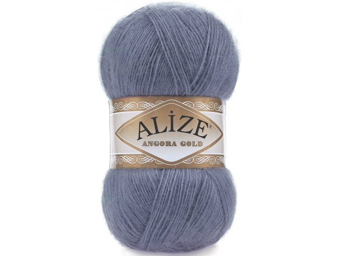 Alize Angora Gold, 10% Mohair, 10% Wool, 80% Acrylic 5 Skein Value Pack, 500g фото 37