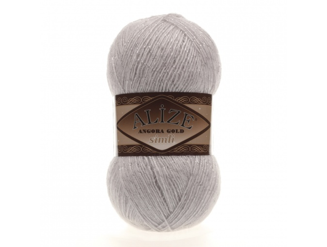 Alize Angora Gold Simli, 5% Lurex, 10% Mohair, 10% Wool, 75% Acrylic, 5 Skein Value Pack, 500g фото 29