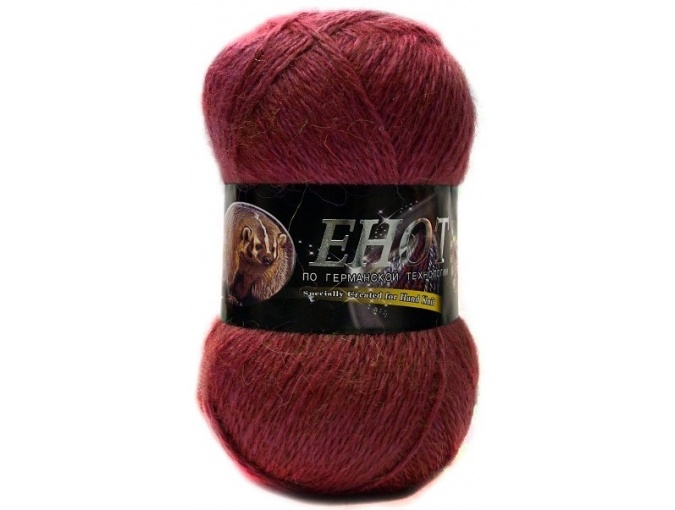 Color City Raccoon 60% Lambswool, 20% Raccoon Wool, 20% Acrylic, 10 Skein Value Pack, 1000g фото 15