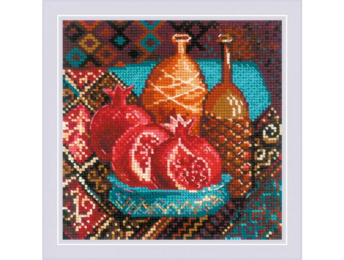 Pomegranates Cross Stitch Kit фото 1