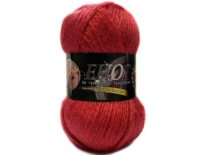 Color City Raccoon 60% Lambswool, 20% Raccoon Wool, 20% Acrylic, 10 Skein Value Pack, 1000g фото 28