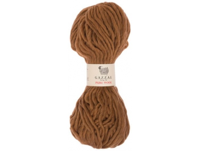 Gazzal Pure Wool-4, 100% Australian Wool, 4 Skein Value Pack, 400g фото 9