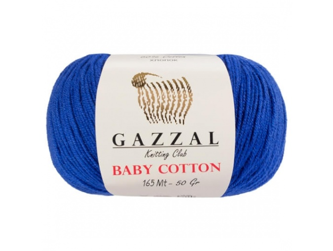 Gazzal Baby Cotton, 60% Cotton, 40% Acrylic 10 Skein Value Pack, 500g фото 24
