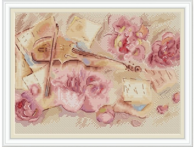 Violin Soul Cross Stitch Pattern фото 1