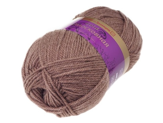 Troitsk Wool Countryside Gold, 50% wool, 50% acrylic 5 Skein Value Pack, 500g фото 13