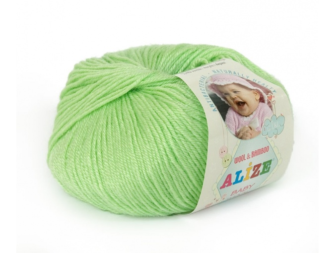 Alize Baby Wool, 40% wool, 20% bamboo, 40% acrylic 10 Skein Value Pack, 500g фото 6
