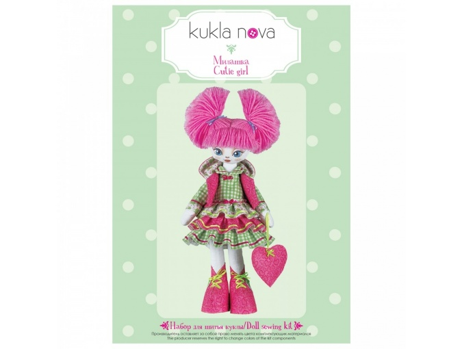 Lovely Friends. Cutie Girl Doll Sewing Kit фото 2