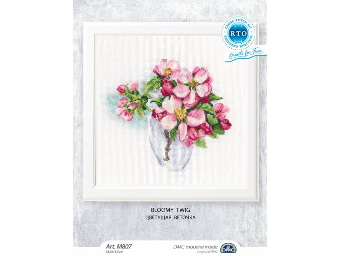 Bloomy Twig Cross Stitch Kit фото 2