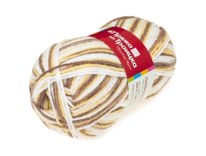 Troitsk Wool Countryside Print, 50% wool, 50% acrylic 10 Skein Value Pack, 1000g фото 19