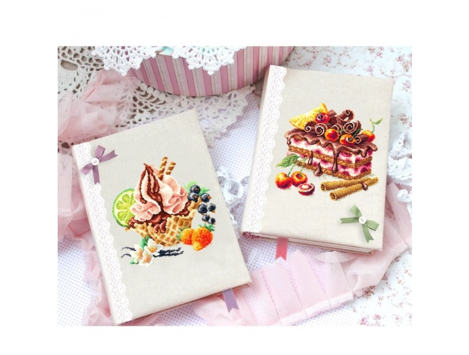Vanilla Ice Cream Cross Stitch Kit фото 5