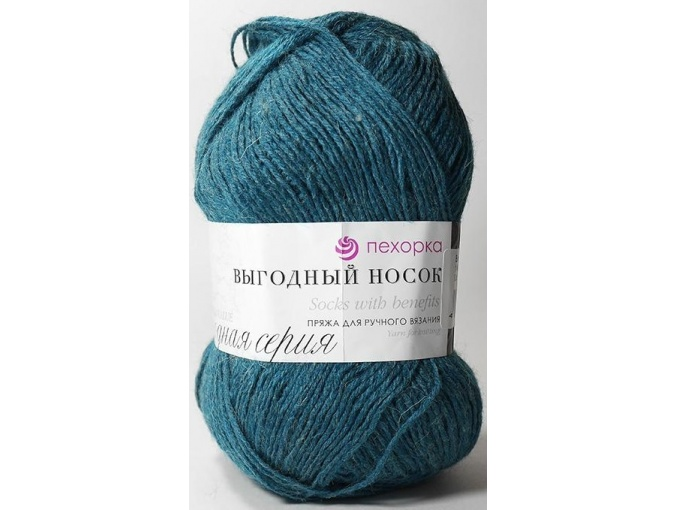 Pekhorka Socks with benefits, 40% Wool, 60% Acrylic 5 Skein Value Pack, 500g фото 7