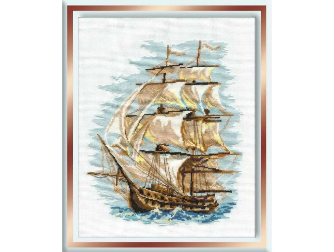 Ship Cross Stitch Kit фото 1