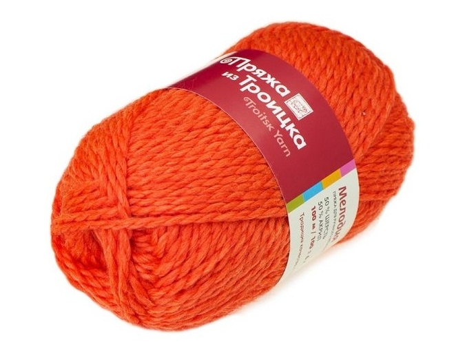 Troitsk Wool Melody, 50% wool, 50% acrylic 10 Skein Value Pack, 1000g фото 28