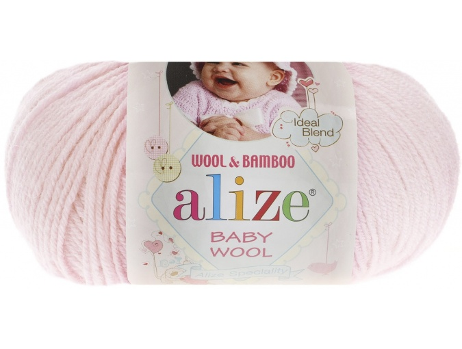 Alize Baby Wool, 40% wool, 20% bamboo, 40% acrylic 10 Skein Value Pack, 500g фото 24