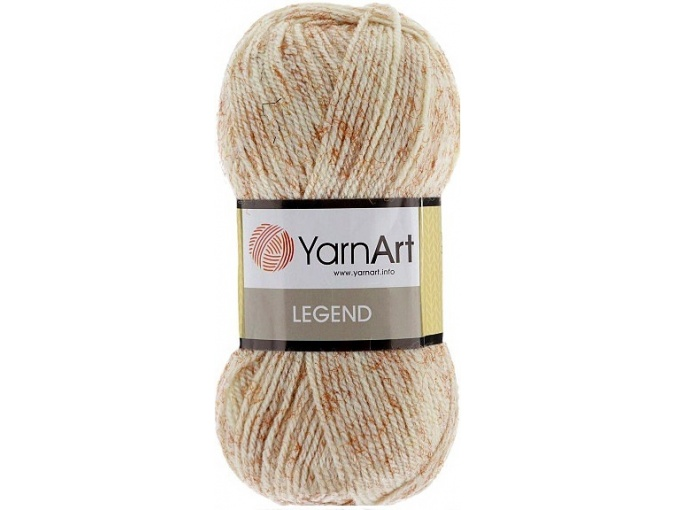 YarnArt Legend 25% Wool, 65% Acrylic, 10% Viscose, 5 Skein Value Pack, 500g фото 2