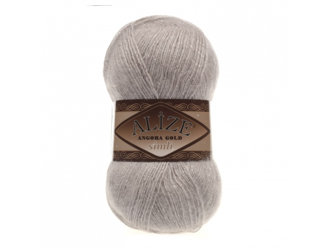 Alize Angora Gold Simli, 5% Lurex, 10% Mohair, 10% Wool, 75% Acrylic, 5 Skein Value Pack, 500g фото 51