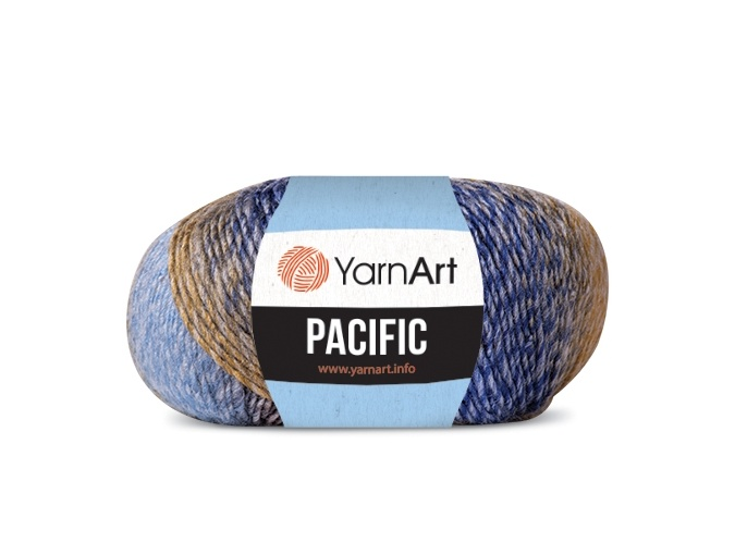 YarnArt Pacific 20% Wool, 80% Acrylic, 10 Skein Value Pack, 500g фото 1