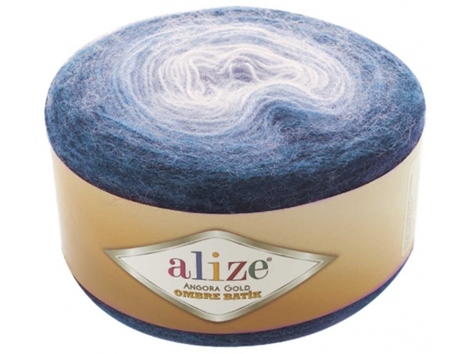 Alize Angora Gold Ombre Batik, 20% Wool, 80% Acrylic 4 Skein Value Pack, 600g фото 8