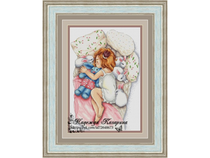 Lump of Happiness Cross Stitch Pattern фото 1