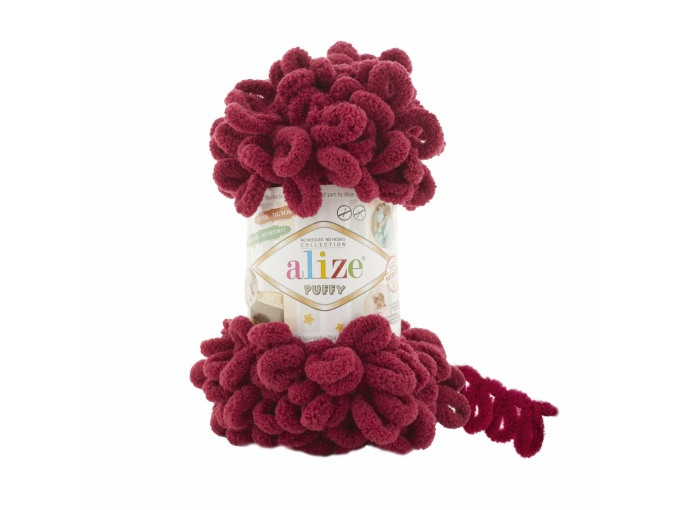 Alize Puffy, 100% Micropolyester 5 Skein Value Pack, 500g фото 21