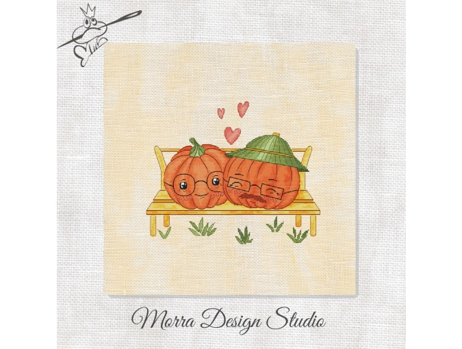 Pumpkins. Happily Ever After Cross Stitch Pattern фото 1