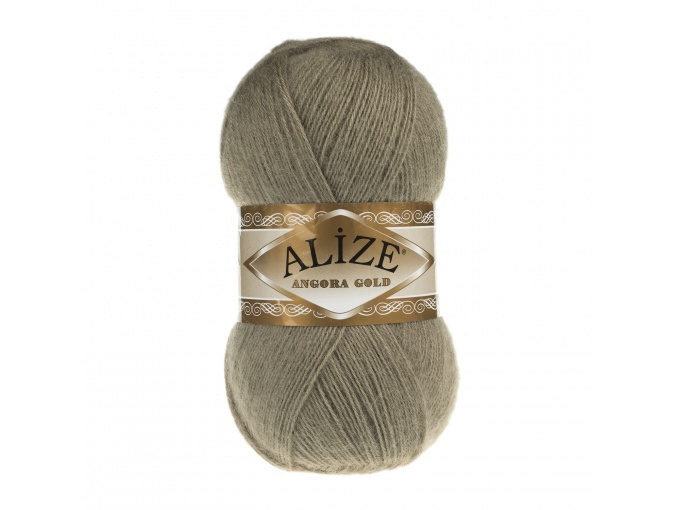 Alize Angora Gold, 10% Mohair, 10% Wool, 80% Acrylic 5 Skein Value Pack, 500g фото 51