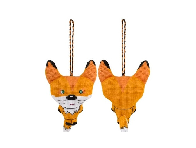 Toy. Fox Cross Stitch Kit фото 1