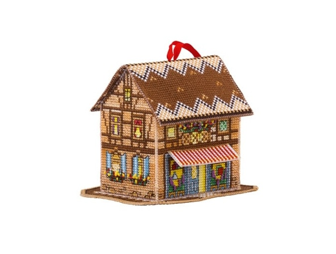 Fairytale House Cross Stitch Kit фото 1