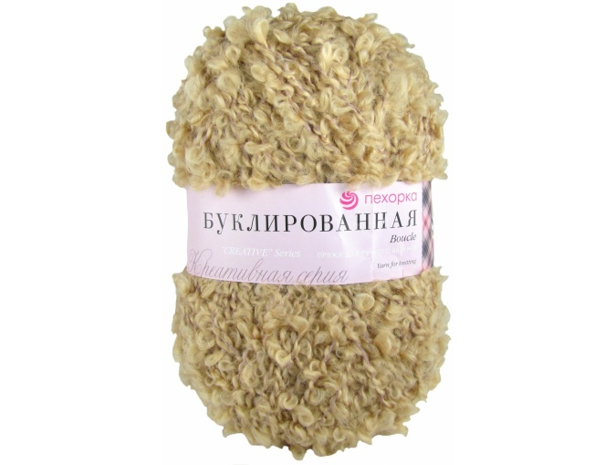 Pekhorka Boucle, 30% Mohair, 20% Wool, 50% Acrylic, 5 Skein Value Pack, 1000g фото 14