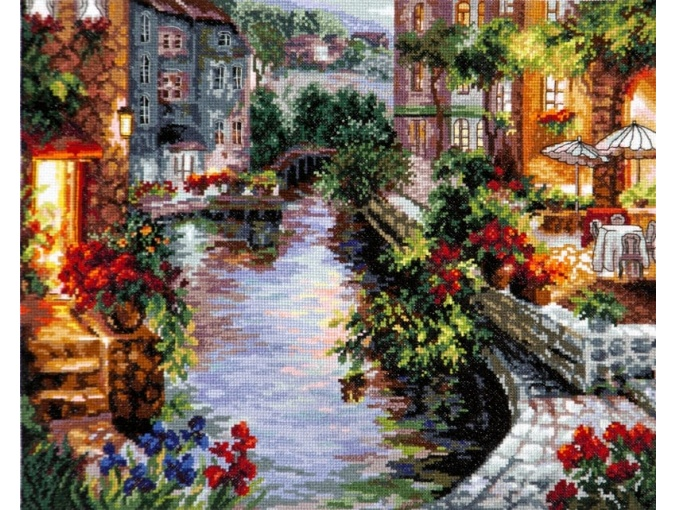 Evening in Venice Cross Stitch Kit фото 1