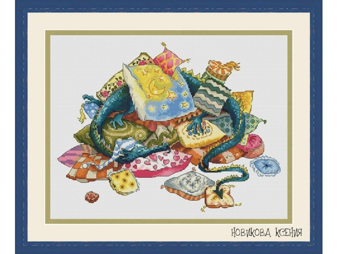 Dragon Dreams Cross Stitch Chart фото 1