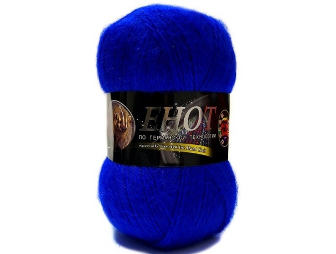 Color City Raccoon 60% Lambswool, 20% Raccoon Wool, 20% Acrylic, 10 Skein Value Pack, 1000g фото 4