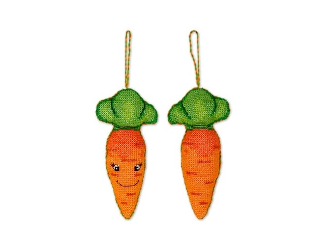 Toy. Carrot Cross Stitch Kit фото 1