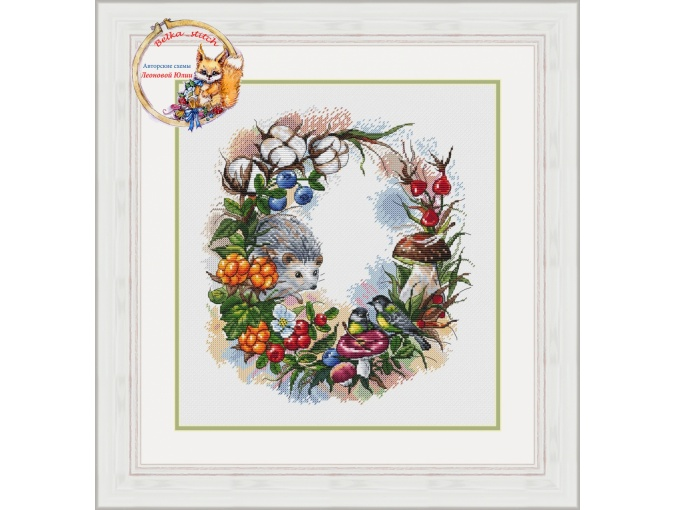 Forest Gifts Cross Stitch Pattern фото 1