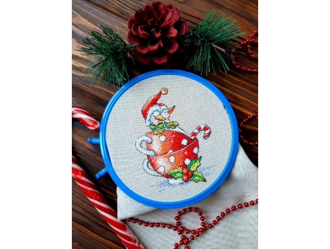 Favorite Cups Cross Stitch Pattern фото 2