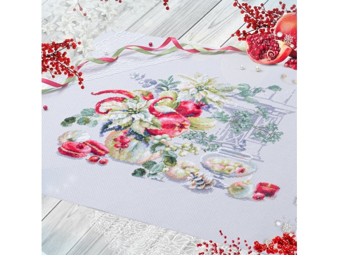 Winter Improvisation Cross Stitch Kit фото 4