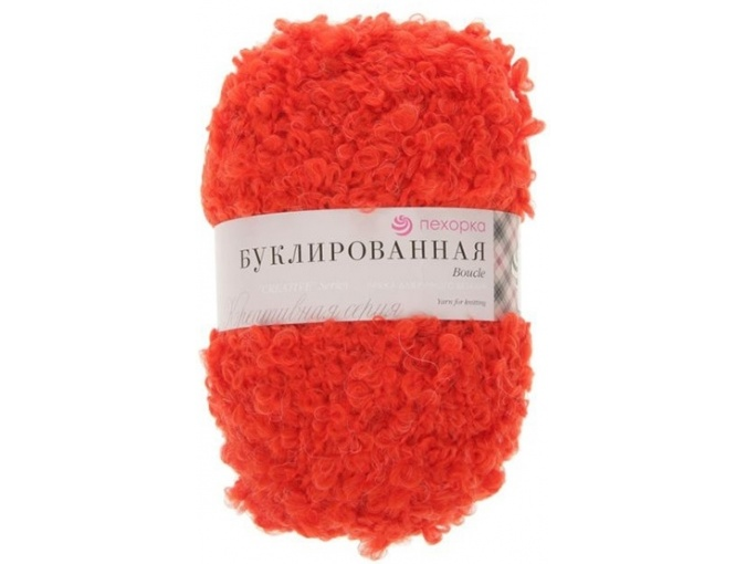 Pekhorka Boucle, 30% Mohair, 20% Wool, 50% Acrylic, 5 Skein Value Pack, 1000g фото 11