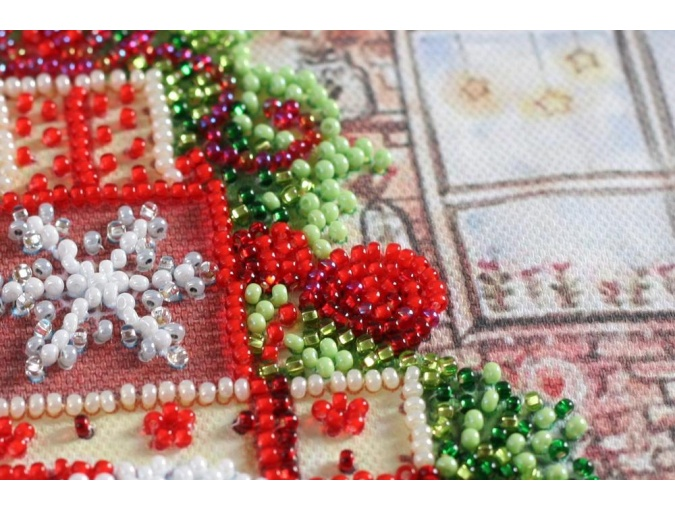 Under the Christmas Tree Bead Embroidery Kit фото 3