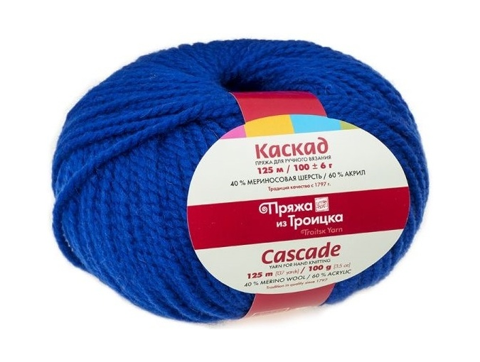 Troitsk Wool Cascade, 40% wool, 60% acrylic 10 Skein Value Pack, 1000g фото 6