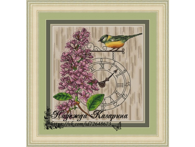 Spring Time Cross Stitch Pattern фото 1