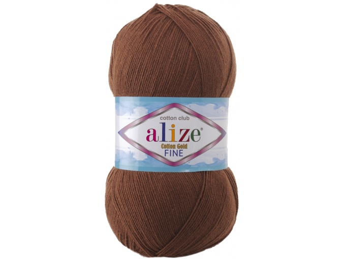 Alize Cotton Gold Fine 55% cotton, 45% acrylic 5 Skein Value Pack, 500g фото 26
